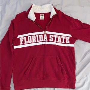 PINK Florida State Pullover